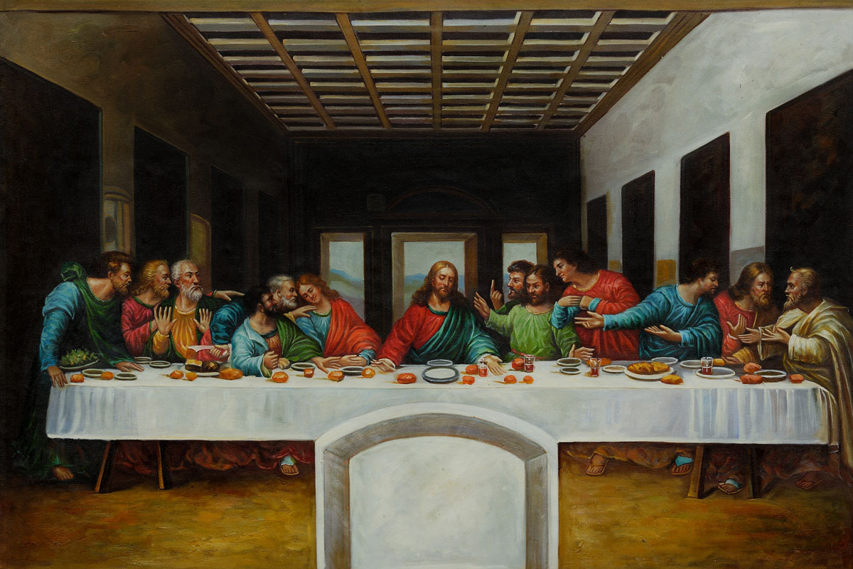A description of leonardo da vincis the last supper